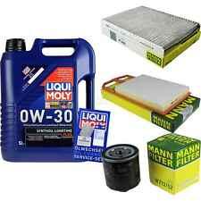 Inspection Kit Filter Liqui Moly Oil Oil 5L 0W-30 for VW Golf IV 1J1 1.4 16V 1J5