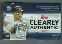 *3 BOX BREAK* 2020 Topps Clearly Authentic 3 Encased Acetate Auto 10 Spots $35