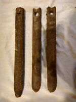 1900 Cast Iron Window Sash Weight 6 pounds More Sizes Available Chimmney Brush
