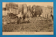 Meuse 55 Lorrain CP CPA Pillon 1914-18 apres bataille brouette Militaires Zivil