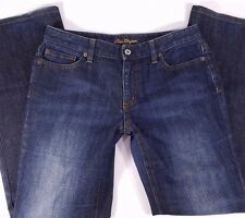 Ann Taylor Lindsay Curvy Fit Boot Cut Jeans Size 6 Women's Measures 31 x 31
