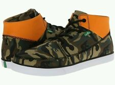 SANUK Camo & Orange HIGHRISE High Tops Sneakers Lace Up Shoes NWT Men's 8.5 $85