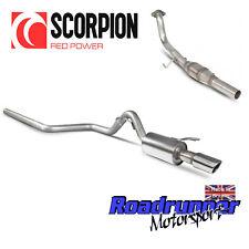 Scorpion Mitsubishi Colt CZT 1.5T Sistema De Escape & secundario no res gato oval