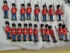 Warwick Miniatures, British Scots Guard Grenadier, lot of 19 lead soldiers 54mm