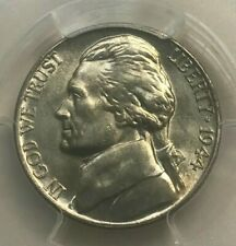 1944 D Jefferson Nickel Certified PCGS MS66 FS Full Steps - RPM-004 Repunched MM