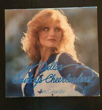 Vintage 1981 Dallas Cowboys Cheerleaders Calendar New Old Stock