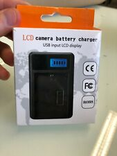 LCD Camera Battery charger (R15)