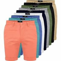 Mens Chino Shorts Cotton Summer Casual Cargo Combat Half Pants Clearance Price**