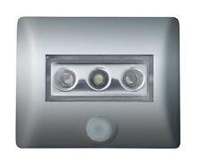 Osram Nightlux LED-Nachtlicht mit Bewegungsmelder und Helligkeitssensor SILBER