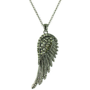 Long Angel Wing Necklace MORE COLOURS AVAILABLE