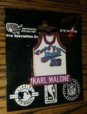 NBA KARL MALONE #32 JERSEY UTAH JAZZ BASKETBALL COLLECTIBLE ENAMEL PSG PIN RARE