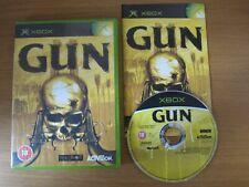 GUN - Xbox Original (PAL) Game