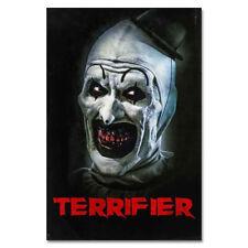 G19 Terrifier Horror Movie Art Poster Silk Cloth / 12x18 20x30 inch
