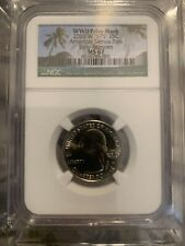 2020 W American Samoa Quarter Early Releases MS67 NGC