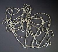 3 Gablonzer Christbaumketten aus Glasperlen um 1930 - 465 cm  (# 12808)