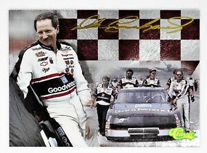 Dale Earnhardt Sr 1995 95 Finish Line Classic All Etched Foil Insert Card #DE9