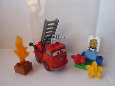 LEGO Duplo The Cars - Set 6132 - Red das Feuerwehrauto  - TOP!