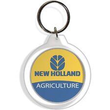 NEW HOLLAND COMMERCIAL LAWN GARDEN FARM TRACTOR FOB KEYCHAIN KEYRING HOOK