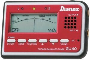 IBANEZ - Gu40-rd Rosso accordatore automatico e manuale
