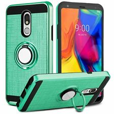 For LG Aristo 4+/Tribute Royal/Journey LTE/Prime 2 Stand Hybrid Armor Case Cover