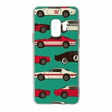For Samsung Galaxy S9 Silicone Case Car Pattern - S2088