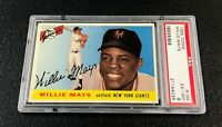 New York Giants Willie Mays 1955 Topps #194 PSA 6 Ex-Mt
