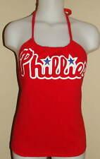 Laadies Philadelphia Phillies Reconstructed MLB Shirt Halter Top DIY