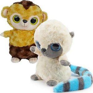 Soft Toy Plush Kids Heat Pack Heatable Roodee YooHoo and Friends Raccoon Monkey