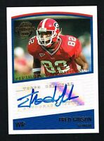 Fred Gibson 2005 Topps Football signed autograph auto Trading Card