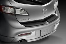 Genuine 2010-2013 Mazda 3 Rear Step Plate (5-Door)  0000-8T-L10 Black Plastic