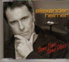 (BN907) Alexander Helmer, Same Time Same Place- 2007 CD
