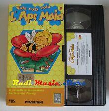 film VHS cartone L'APE MAIA - LUCCIOLA JUMMY  - VOL. 5 DE AGOSTINI ( F166)