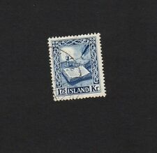 ICELAND 1953 1K75 BLUE BOOKS & CANDLE Fine Used