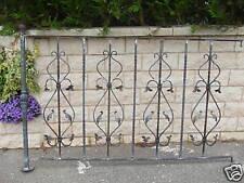GARDE CORPS OU RAMPES décoration  fer forgé