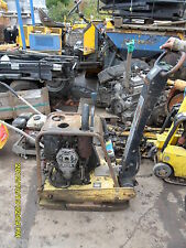 Bomag Diesel handle start compactor plate