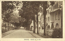 Malmedy - Entrée de la ville, Ansichtskarte von 1923