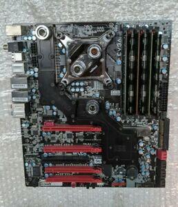 EVGA X58 Classified motherboard full watercooling +i7 920+ 18GB ram Socket 1366