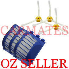 3 AeroVac Filters 3 X 3-armed Brush for iRobot Roomba 600 Series 620 630 650 660