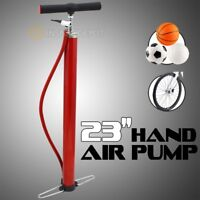 "23"" Hand Sport And Cycling Bicycle Air Pump Ball Basketball Tire Soccer Bike"