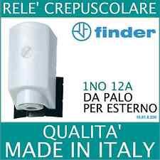 FINDER RELE' CREPUSCOLARE DA PALO  10518230 1 NO 12A (230V) PER ESTERNO FINDER