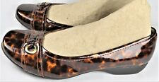 Clarks Propose Spire Loafers Flats Brown Shoes Vegan Womens Size 8.5 M NEW