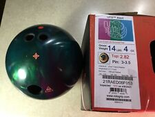 Roto Grip UFO Alert Right Hand Drilled 14lb Bowling Ball