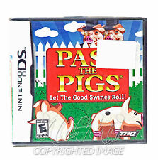 New Pass the Pigs Nintendo DS Game DSi