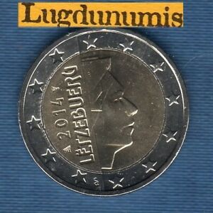 Luxembourg 2014 2 Euro SUP SPL provenant de rouleau - Luxembourg