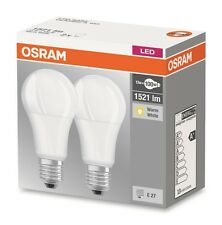 2er Pack Osram LED BASE Classic A100 E27 13W warmweiß LED-Lampe = 100W Glühbirne