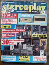STEREOPLAY 12/88 DENON DCD 3520, REVOX B 126, PIONEER PDM 700, SANSUI CDX 510 M