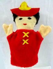 Firefighter Fireman Hand Sheram Puppet Inc Helmet Children Pretend Play New