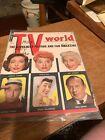 VINTAGE September 1955 TV World Magazine - LUCILLE BALL Cover
