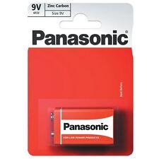 Panasonic Zinc Carbon Battery 9-Volt Card