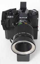Elicar MS-1 medical camera w/ 90mm f2.5 V-HQ Macro lens, flash